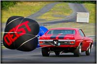 Lou Denny's Radical 8.50 Index and Early Quick 8 Chevelle Relies On J & E Performance Power For Over Eight Years