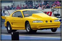 Standout Drag Radial Champion and Record Holder Alex Vrettos Of CoRuPt Motorsports With The J&E Performance Winning Edge